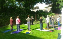Yoga-studio Susumna op yogafestivalnijmegen.